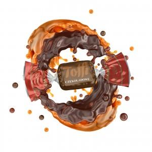 Toffi czekoladowe