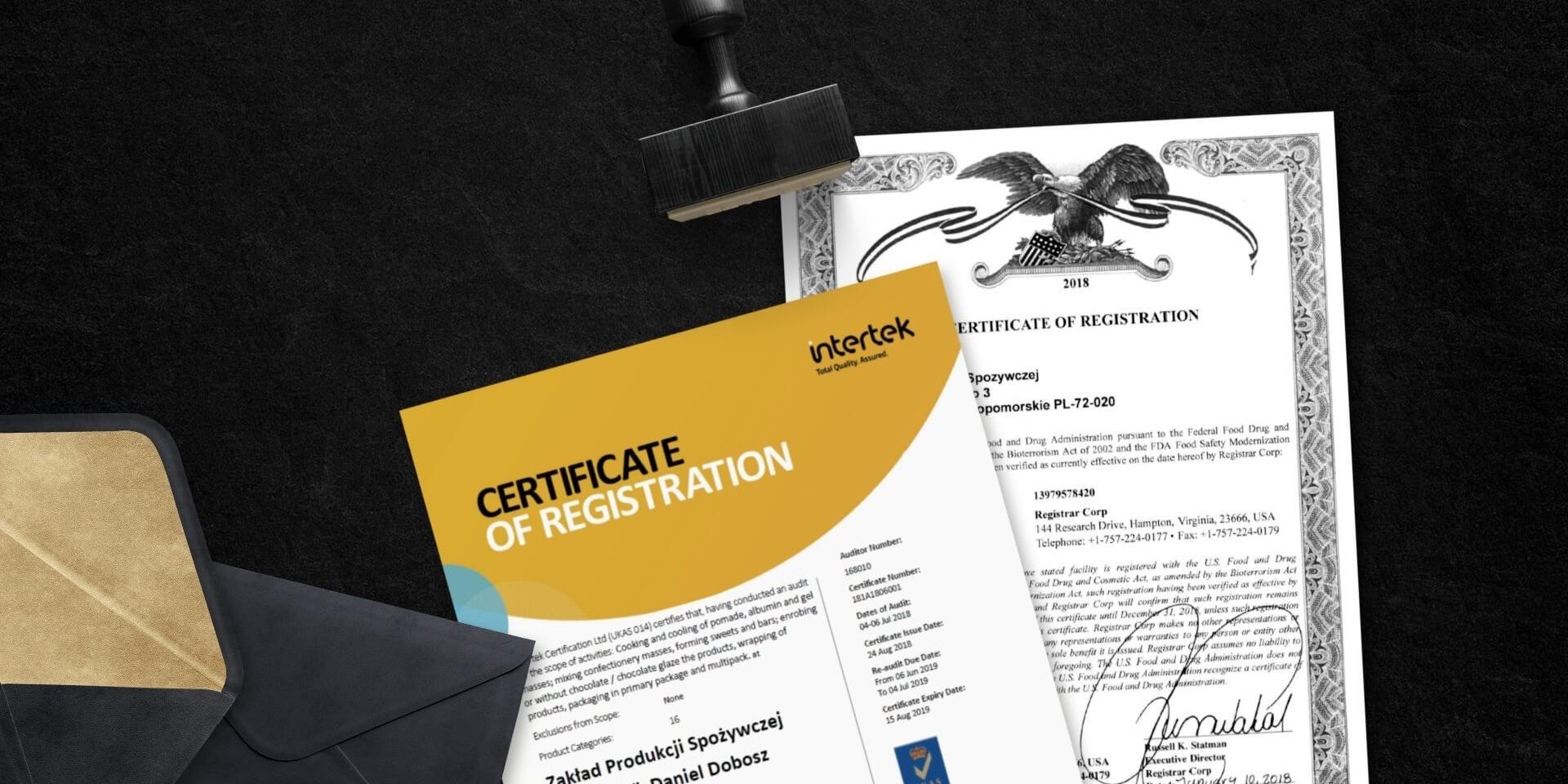 сертификат BRC